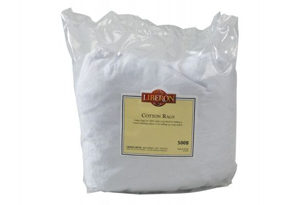 Liberon Cotton Rags 500g