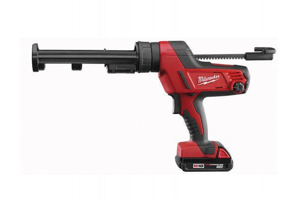 Milwaukee C18 PCG/310C Caulking Gun 310ml 18V 1 x 2.0Ah Li-Ion