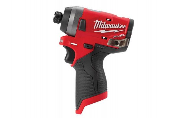 Milwaukee M12 FID-0 Fuel™ Sub Compact 1/4in Impact Driver 12V Bare Unit