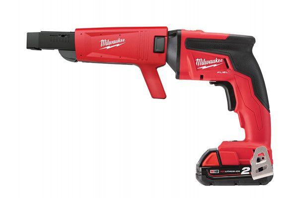 Milwaukee M18 FSGC-202X Fuel™ Screw Gun With Collated Attachment 18V 2 x 2.0Ah Li-Ion