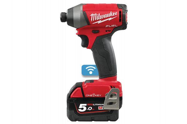 Milwaukee M18 ONEID-502X Fuel™ ONE-KEY™ 1/4in Hex Impact Driver 18V 2 x 5.0Ah Li-Ion