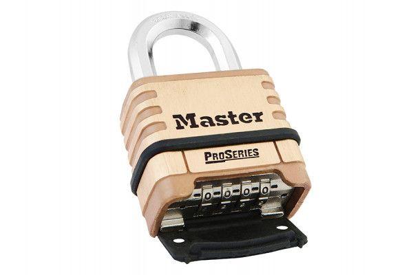 Master Lock ProSeries Brass 4 Digit Padlock 57mm