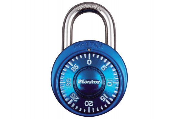 Master Lock Stainless Steel Fixed Dial Combination 38mm Padlock