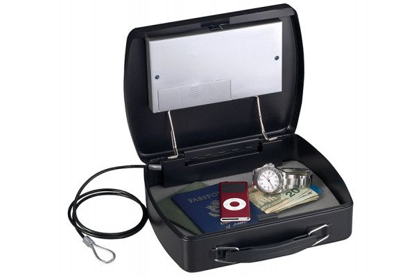 Master Lock Portable Digital Safe with Cable