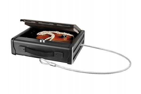 Master Lock Compact Keyed Lock Safe with Cable