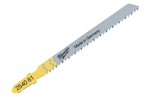 Milwaukee Wood Clean & Splinter Free Jigsaw Blades Pack of 5 T101D