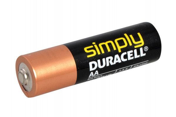 Miscellaneous AA Simply Duracell Alkaline MN1500 Batteries Pack of 4