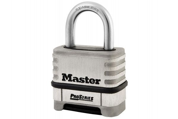 Master Lock ProSeries Stainless Steel 4 Digit Padlock 57mm