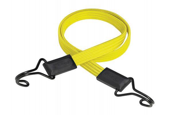 Master Lock Flat Bungee 100cm Yellow Double Hook