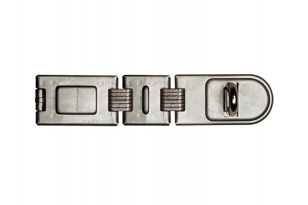 Master Lock Wrought Steel Double Hinged Hasp 200mm