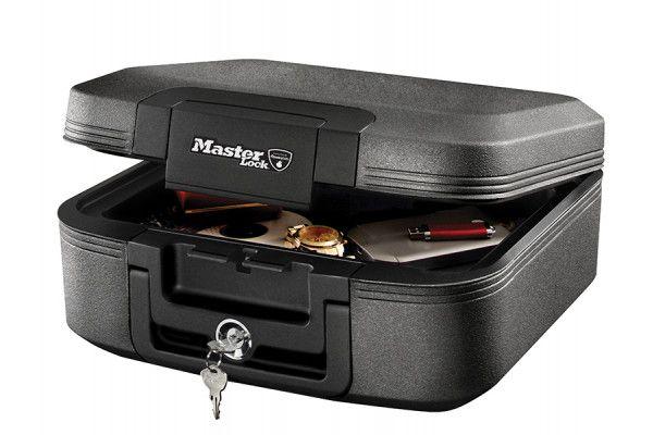 Master Lock Medium Key Locking Fire & Water Chest