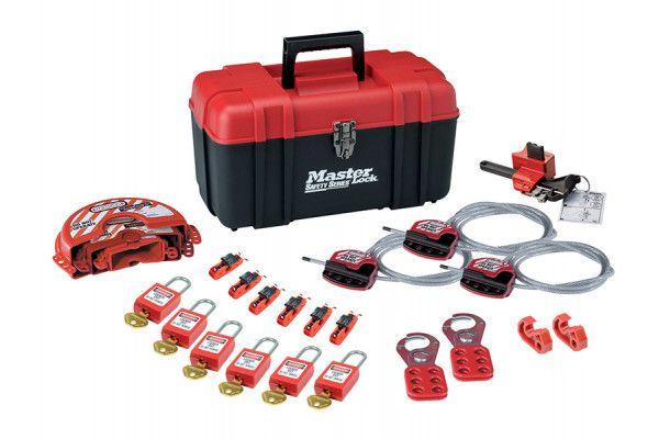 Master Lock Valve & Electrical Lockout Toolbox Kit 23-Piece