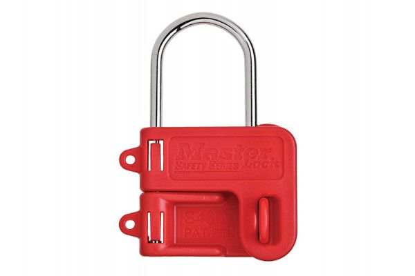 Master Lock Two Padlock Lockout Hasp - 4mm Shackle