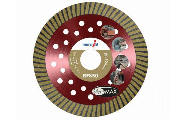 Marcrist BF850 SilentMAX Ultimate Turbo Diamond Blade 115 x 22.2mm