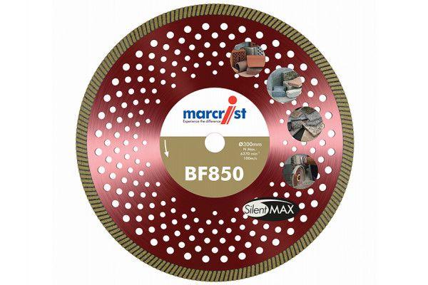 Marcrist BF850 SilentMAX Ultimate Turbo Diamond Blade 300 x 20mm