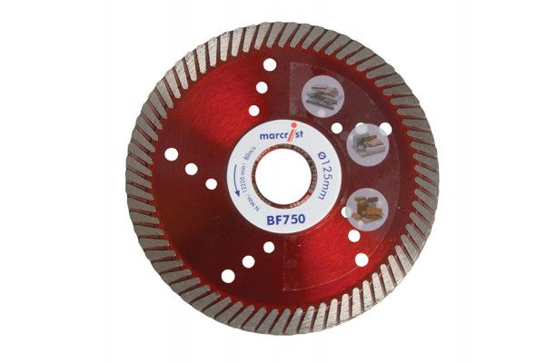 Marcrist, BF750 Diamond Blades Fast Precision Cut