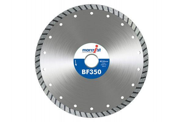 Marcrist BF350 Turbo Diamond Blade 230 x 22.2mm