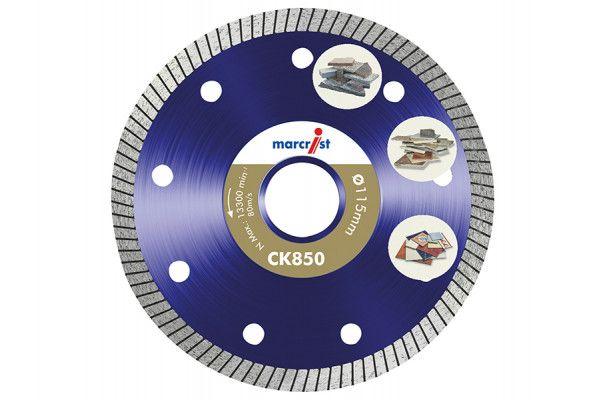Marcrist CK850 Extreme Speed Diamond Blade Fast Tile 115 x 22.2mm