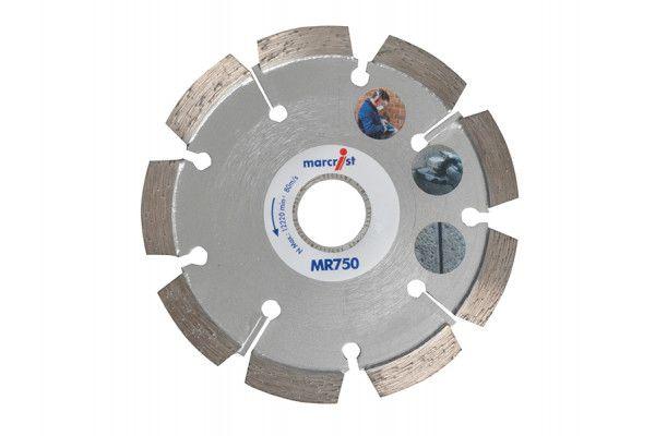 Marcrist MR750 Mortar Raking Diamond Blade 115 x 22.2 x 6mm