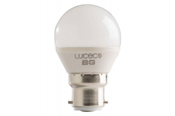 Masterplug LED Mini Globe Bulb B22 (BC) Non-Dimmable 250 Lumen 3 Watt 2700K