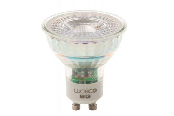 Masterplug LED GU10 Glass Non-Dimmable Bulb 260 Lumen 3.5 Watt 2700K
