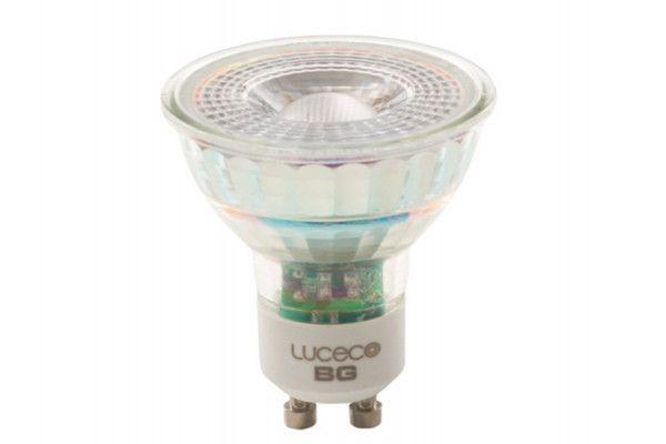 Masterplug LED GU10 Glass Bulb Non-Dimmable 370 Lumen 5 Watt 2700K Box