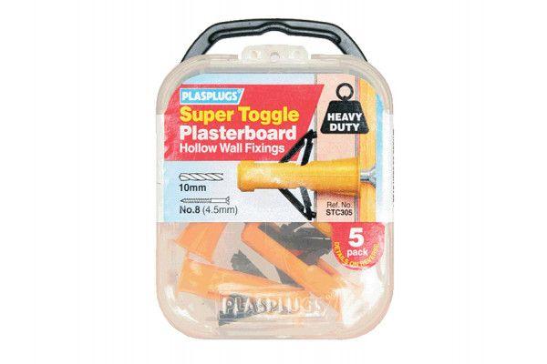 Plasplugs STC 305 Super Toggle Cavity Anchors (5)