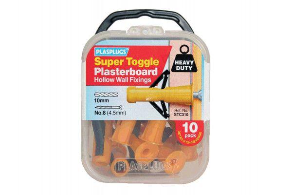 Plasplugs STC 310 Super Toggle Cavity Anchors (10)