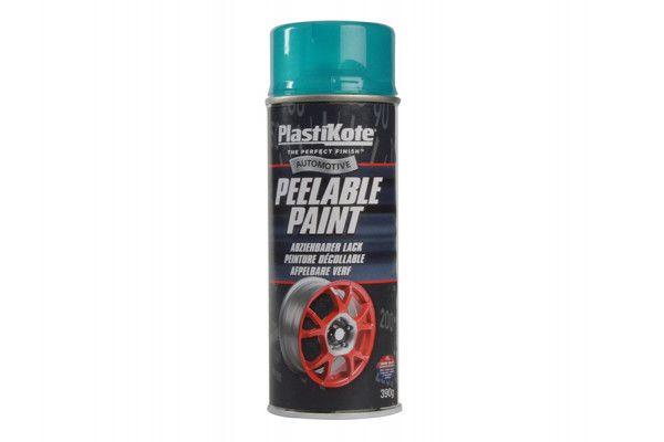 PlastiKote Peelable Paint Transparent Blue 400ml