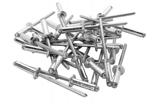 Rapid Standard Aluminium Rivets 4 x 12mm (Bag of 100)