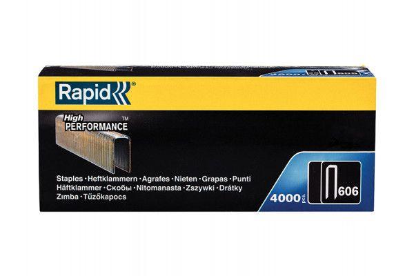 Rapid 606/18B4 18mm Staples Narrow Box 4000