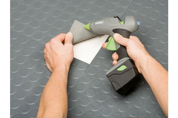 Rapid BGX300 Cordless Pro Glue Gun Kit 7.2 Volt 1 x 2.6Ah Li-Ion
