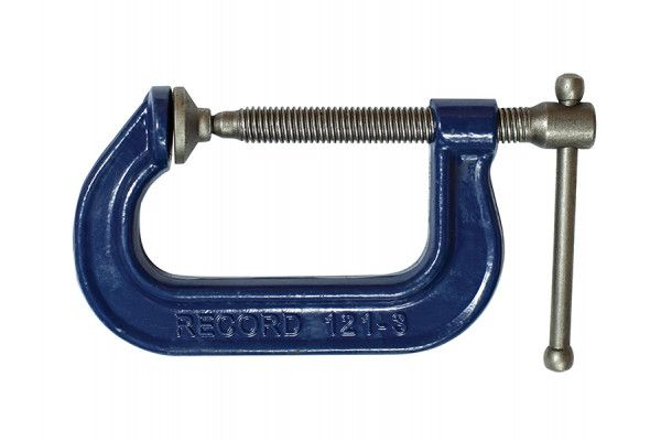 IRWIN Record 121 Extra Heavy-Duty Forged G Clamp 75mm (3in)
