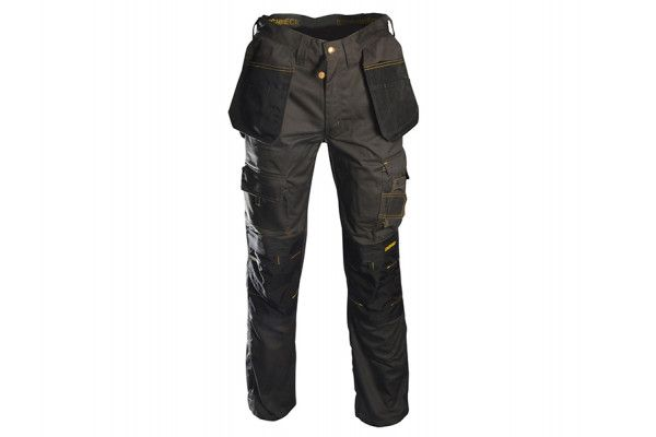 Roughneck Clothing Black & Grey Holster Work Trousers Waist 30in Leg 31in