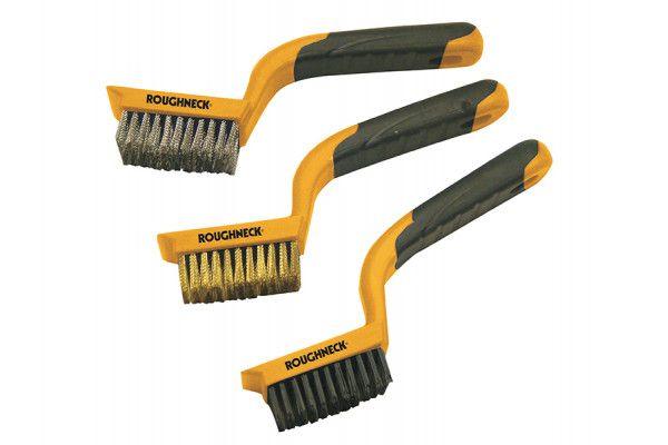 Roughneck Wire Brush Set of 3