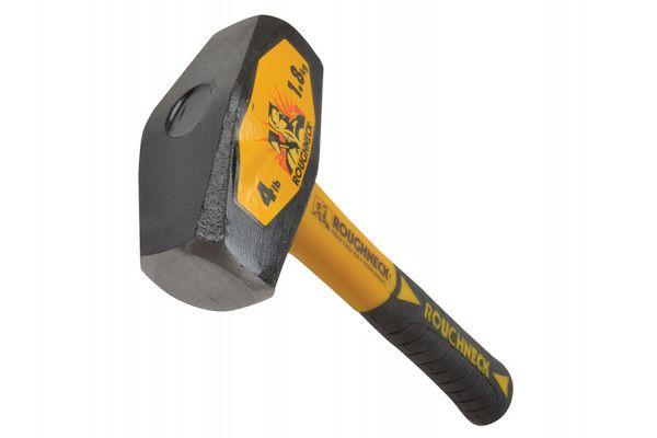 Roughneck Club Hammer Fibreglass Handle 1.8kg (4lb)
