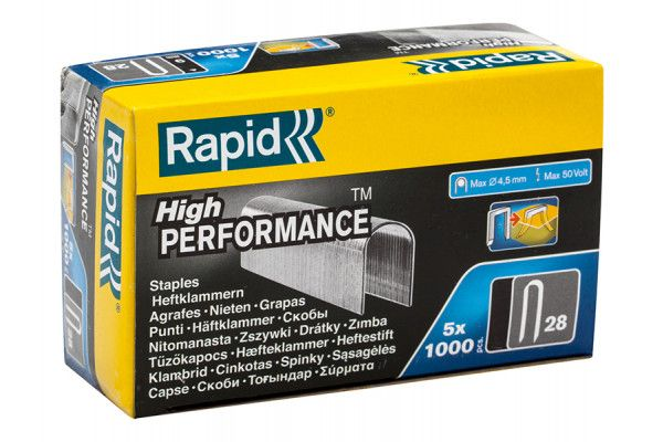 Rapid, 28 Series 10mm Staples