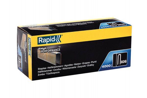 Rapid 606/25B4 25mm Staples Narrow Box 4000