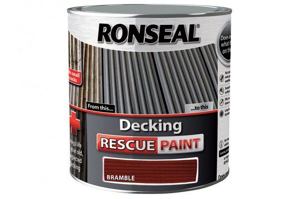 Ronseal Decking Rescue Paint Bramble 2.5 Litre