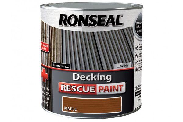 Ronseal Decking Rescue Paint Maple 2.5 Litre