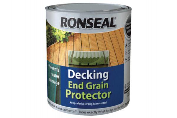 Ronseal Decking End Grain Preserver Green 750ml