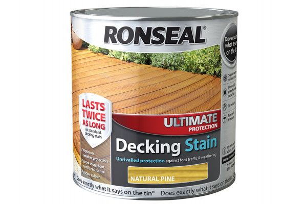Ronseal Ultimate Protection Decking Stain Natural Pine 2.5 Litre