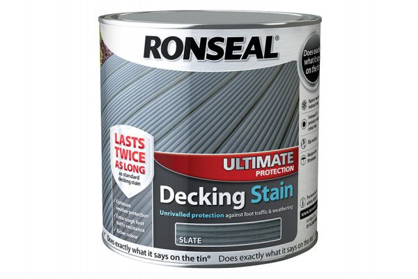 Ronseal Ultimate Protection Decking Stain Slate 2.5 Litre