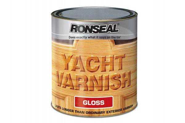 Ronseal Exterior Yacht Varnish Gloss 500ml