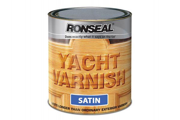 Ronseal Exterior Yacht Varnish Satin 2.5 Litre