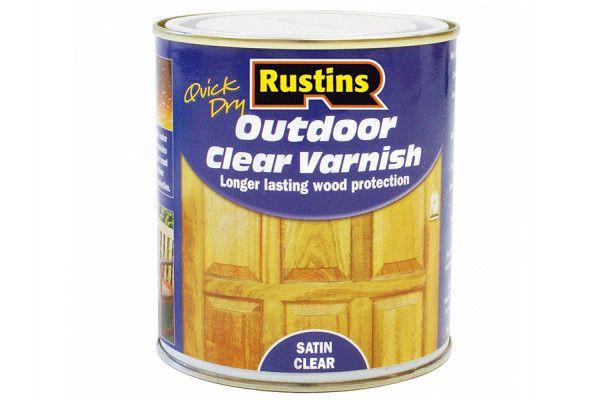 Rustins Exterior Varnish Satin 2.5 Litre