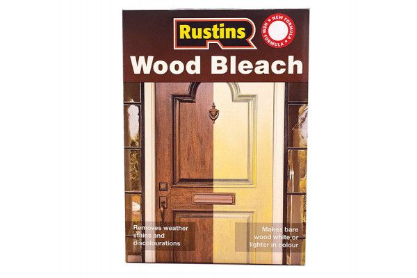 Rustins Wood Bleach Set (A & B Solution 500ml)