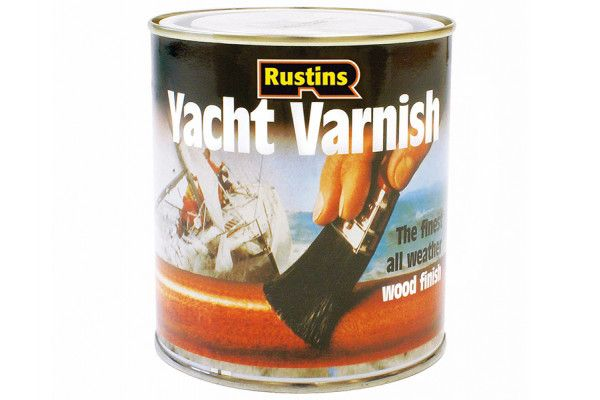 Rustins Yacht Varnish Satin 1 Litre