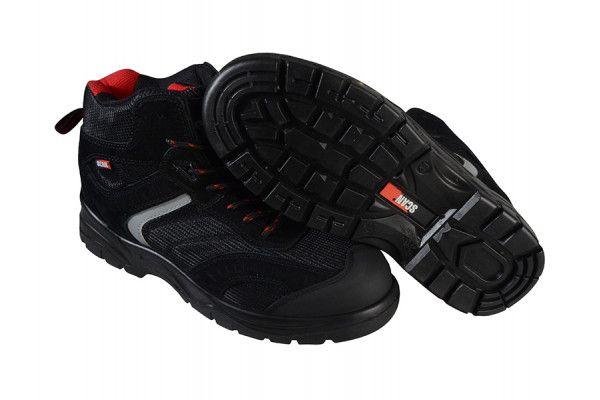 Scan Bobcat Low Ankle Black Hiker Boots UK 11 Euro 46