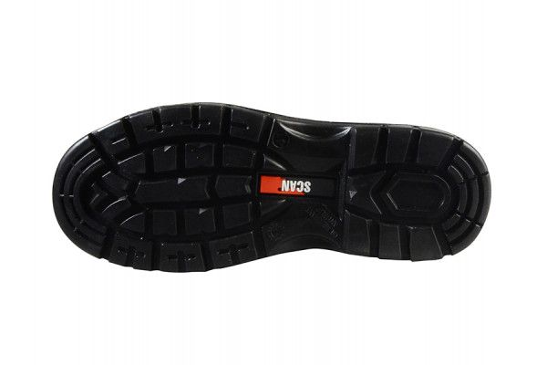 Scan Bobcat Low Ankle Black Hiker Boots UK 12 Euro 47